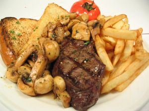 Steak Sandwich Lunch special