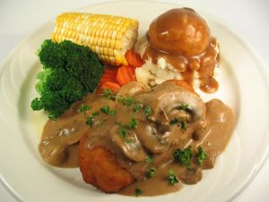 Chicken and Mushroom Gravy