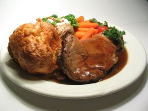 Prime Rib with Yorkshire Pudding